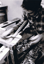 charlie groves handmaking a trug image